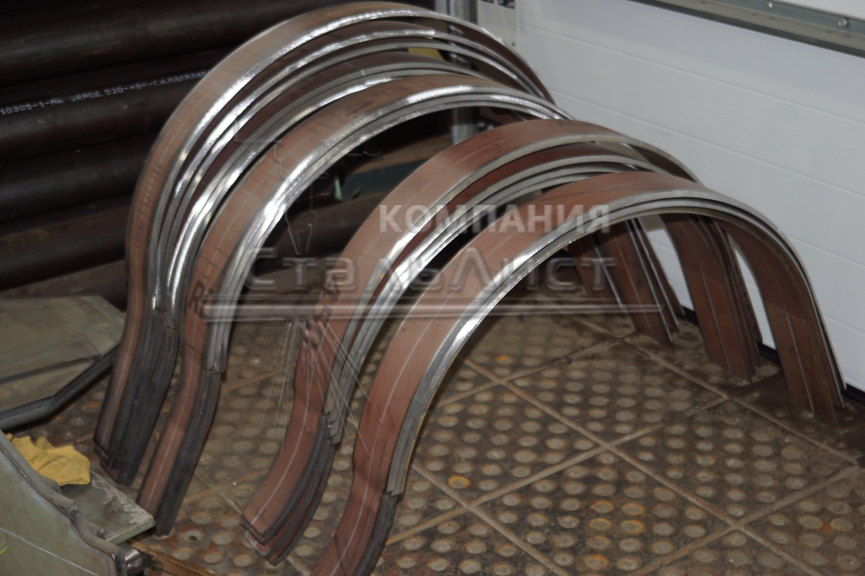 Примеры вальцовки листового металла
