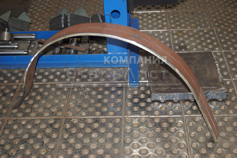 Примеры вальцовки стальных листов