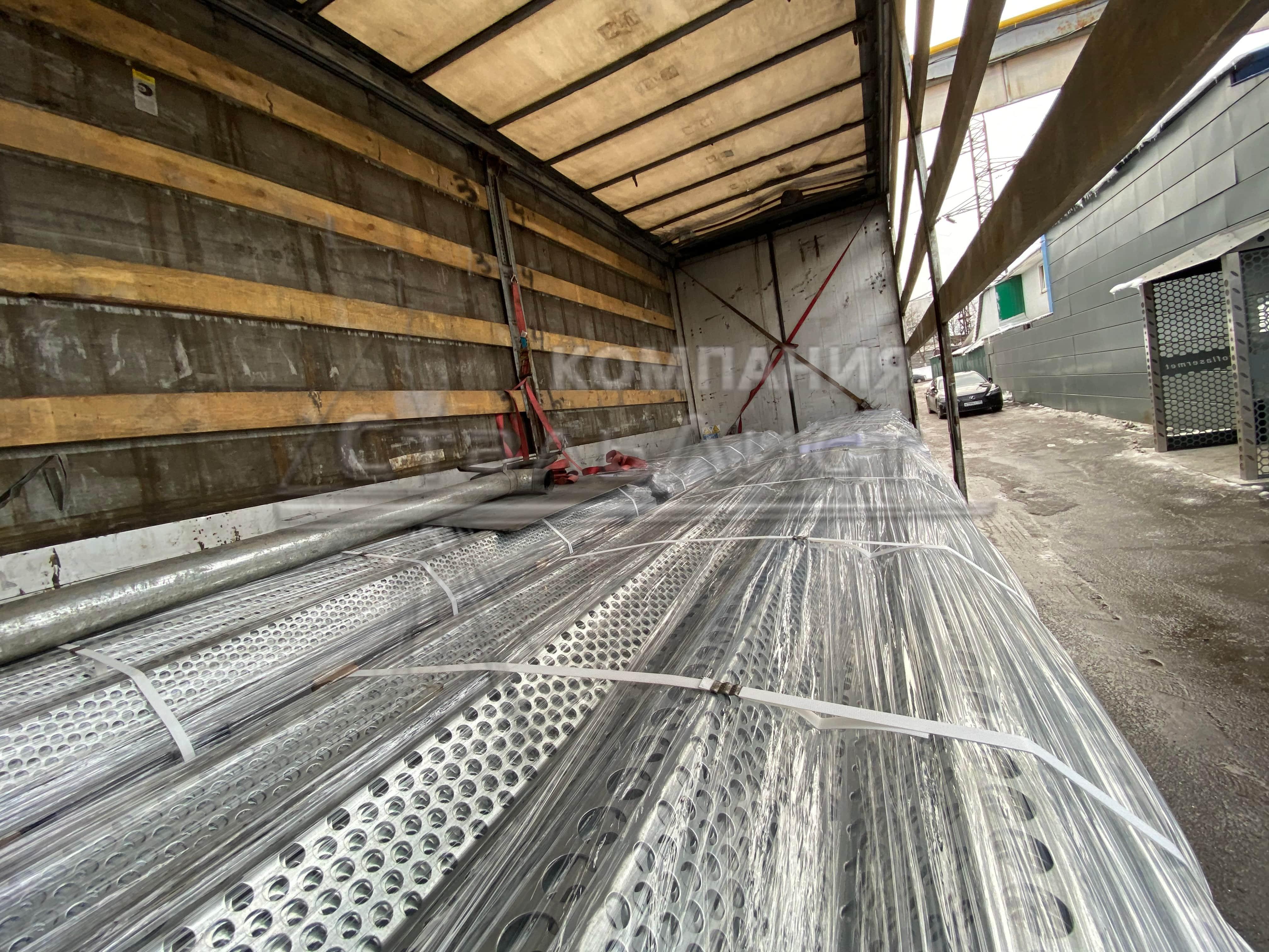 Пример изготовления ветропанелей из металла фото 11