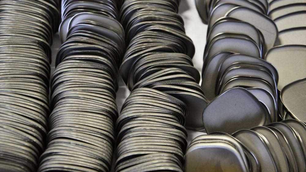 Пример штамповки изделий из металла