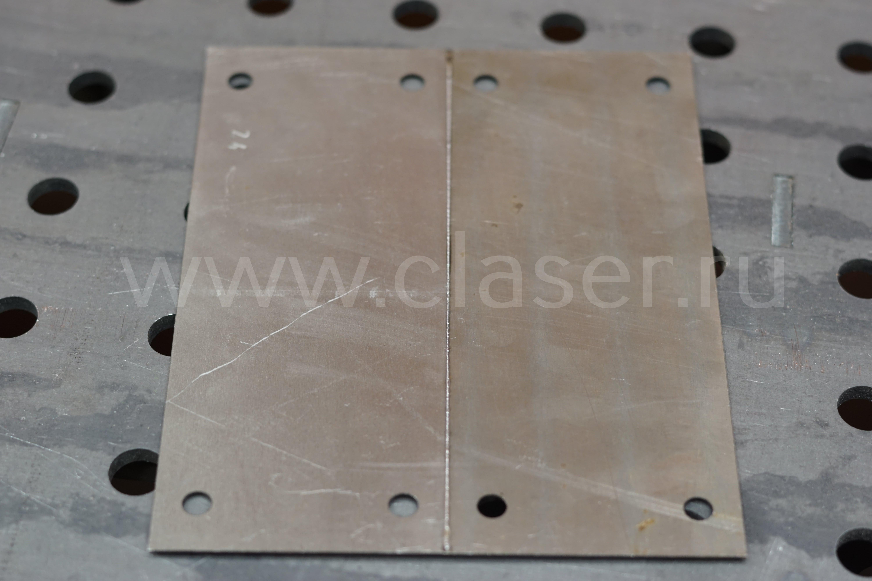 Пример лазерной сварки металла фото 2