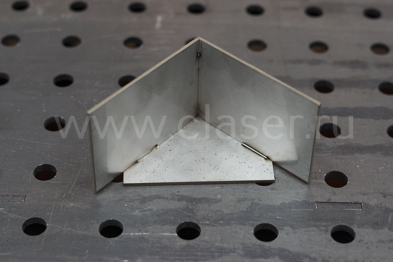 Пример лазерной сварки металла фото 1