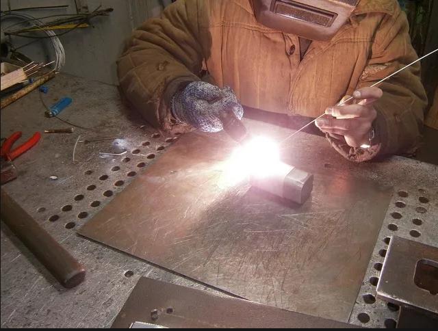 Пример сварки металла фото 2